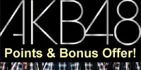 AKB48: 65 DVDs 15% Extra Point & Bonus Item Offer' Items Discount Offer