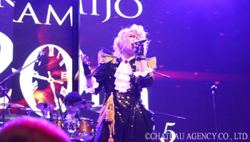 Hot Report on KAMIJO's World Tour 2015