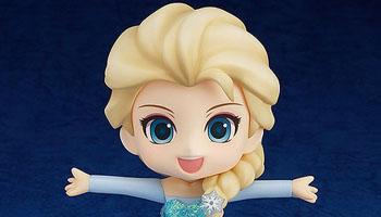 """Elsa from """"Frozen"""" anime is coming in Nendoroid series!"""