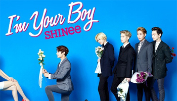 """SHINee: """"I'm Your Boy """" out on Sep. 24!"""