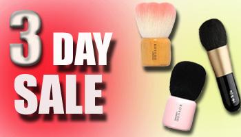 3 Day Sale! Koyudo Brushes 20% OFF