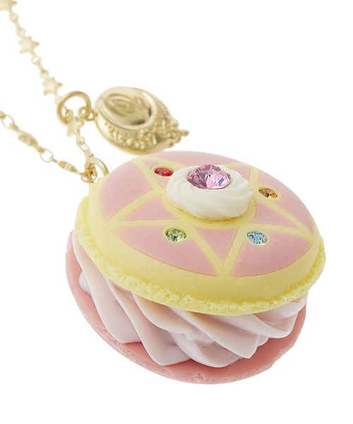Crystal Star macaroon necklace /