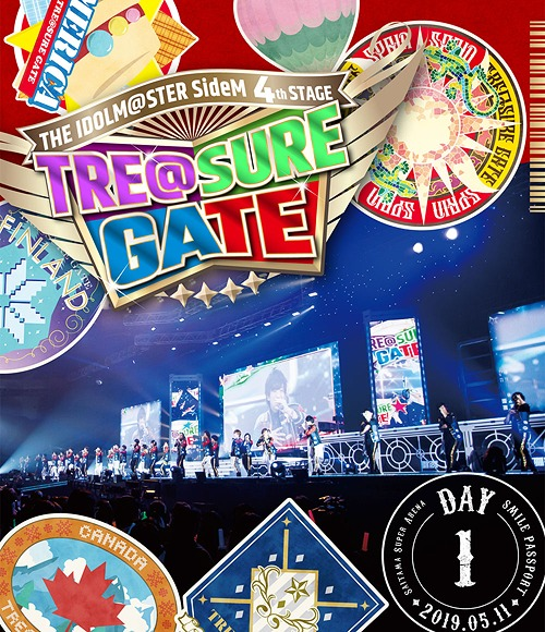 THE IDOLM@STER (Idolmaster) SideM 4th Stage - TRE@SURE GATE - Live Blu-ray / THE IDOLM@STER SideM