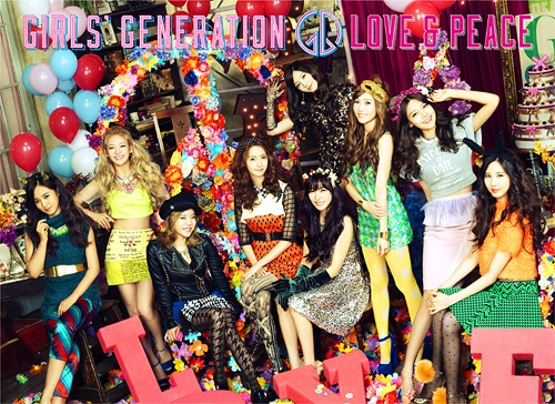 GIRLS' GENERATION Japan 3rd ALBUM / Girls' Generation (SNSD)
