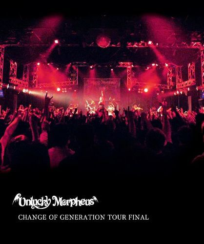 CHANGE OF GENERATION TOUR FINAL w/ diskunion Bonus DVD-R / Unlucky Morpheus