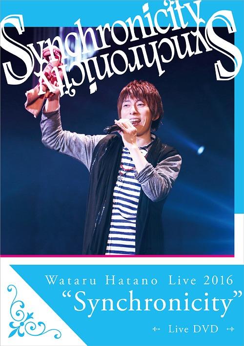 """Wataru Hatano Live2016 """"Synchonicity"""" Live DVD / Wataru Hatano"""