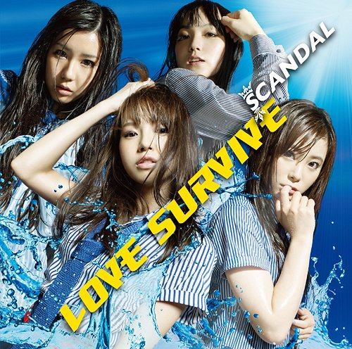 "SCANDAL >> álbum ""Baby Action"" ESCL-3740"