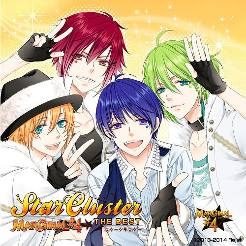 "Marginal#4 The Best ""Starclustar"" (Atomo Rui L R Ver.) / MARGINAL#4"