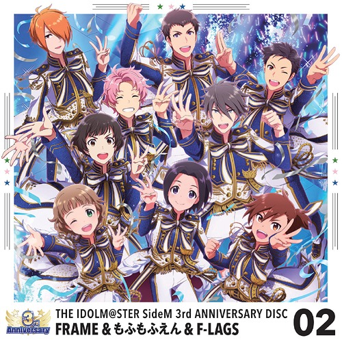 """THE IDOLM@STER (Idolmaster) Side M (Game)"" 3rd ANNIVERSARY DISC / FRAME, Mofumofuen, F-LAGS"