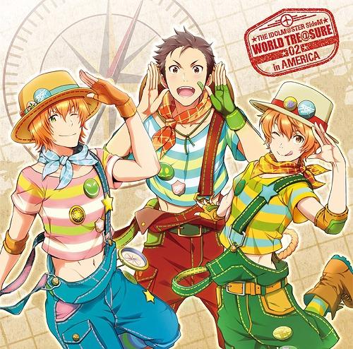 The Idolm@ster (Idolmaster) SideM World Tre@sure / Ryu Kimura (Kento Hama), Haruna Wakazato (Yusuke Shirai), Yusuke Aoi (Takeru Kikuchi)
