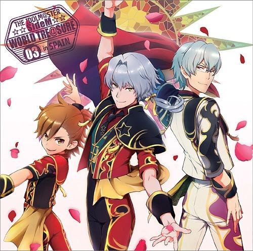 The Idolm@ster (Idolmaster) SideM World Tre@sure / Michio Hazama (CV: Kento Ito), Ren Kizaki (CV: Shohei Komatsu), Shiro Tachibana (CV: Keisuke Furuhata)