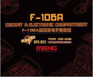 MENG Model 1/72 F-106A cockpit and electronic components (resin) /