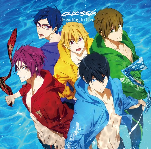 """Free! -Dive to the Future- (Anime)"" Intro Main Theme Song: Heading to Over / OLDCODEX"