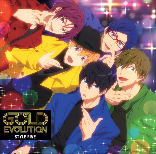 """Free! -Dive to the Future- (Anime)"" Outro Main Theme Song: GOLD EVOLUTION / STYLE FIVE"