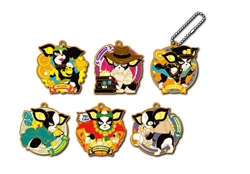 Rubber Mascot JoJo's Bizarre Adventure Iggy no kimyouna Cosplay GOLD.ver Box /