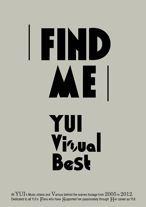FIND ME YUI Visual Best / YUI