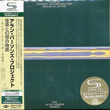 (Progressive) The Alan Parsons Project - Tales Of Mystery And Imagination. Edgar Allan Poe (Deluxe Edition Japan SHM-CD) - 2008, FLAC (tracks+.cue), lossless
