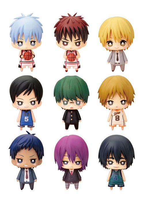 One Coin Mini Figure Collection Kuroko's Basketball 3Q Box /