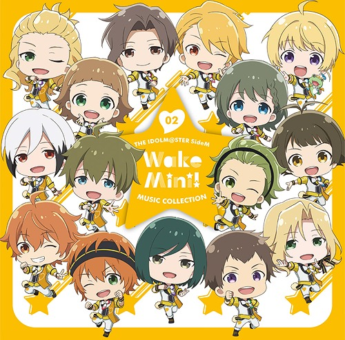 THE IDOLM@STER SideM WakeMini! Music Collection / 315 STARS (Mental Ver.)