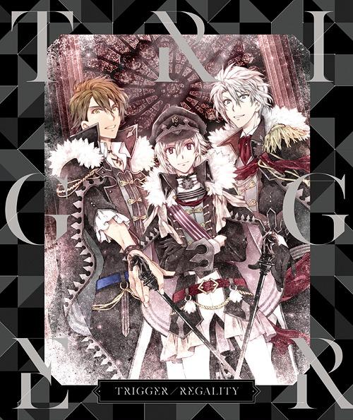 APPLI GAME [IDOLISH7] TRIGGER 1ST FULL ALBUM (TBC) / TRIGGER [Ten Kujo (Soma Saito), Gaku Yaotome (Wataru Hatano), Ryunosuke Tsunashi (Takuya Sato)]