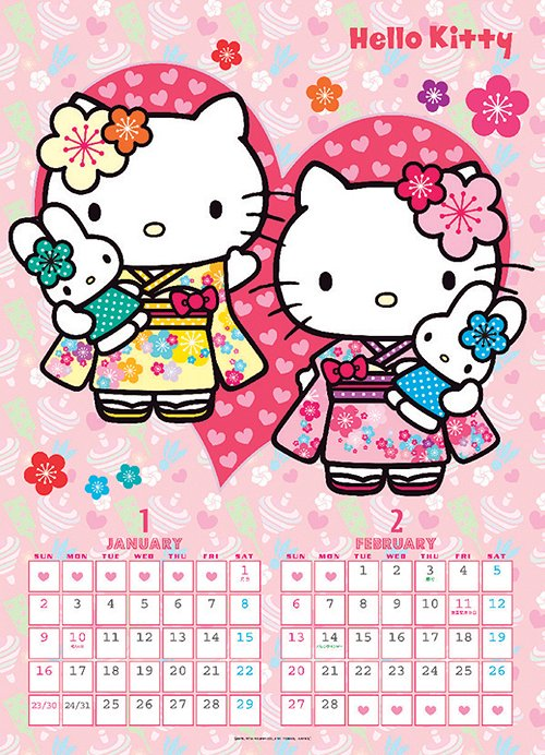 Hello Kitty Calendar [Collectible]