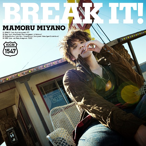 Title is to be announced (11th Single) / Mamoru Miyano