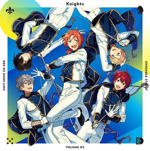 Ensemble Stars! Unit Song CD 3rd Series / Knights (Reo Tsukinaga, Izumi Sena, Ritsu Sakuma, Arashi Narukami, Tsukasa Suou)