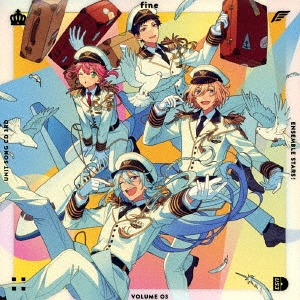 Ensemble Stars! Unit Song CD 3rd Series / fine (Eichi Tenshoin, Yuduru Hibiki, Tori Himemiya, Yuzuru Fushimi)