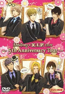 3 Majesty x X.I.P. LIVE -5th Anniversary Tour- / 3 Majesty x X.I.P.