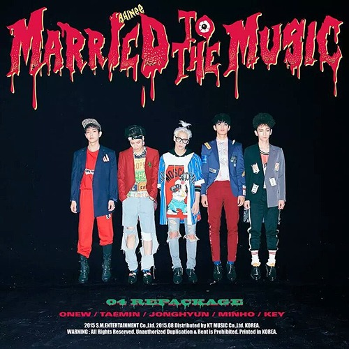 Vol.4 Repackage Album: Married To The Music / SHINee