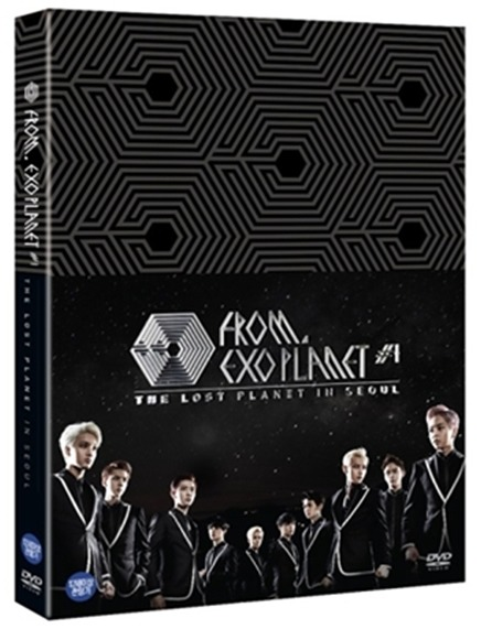EXO FROM. EXOPLANET #1: THE LOST PLANET IN SEOUL / EXO