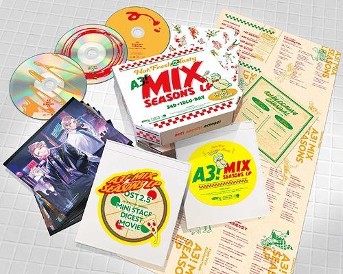 A3! MIX SEASONS LP / Game Music