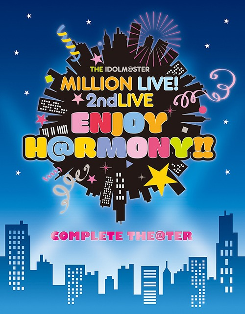 The Idolm@ster (Idolmaster) Million Live! 2nd LIVE ENJOY H@RMONY!! LIVE Blu-ray / V.A.