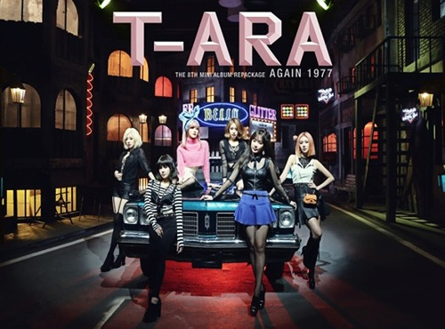 8th Mini Repackage Album: Again 1977 / T-ARA
