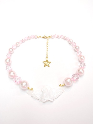 Angelic Pretty Day Dream Carnival pearl choker (white) /