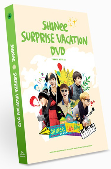 SHINee SURPRISE VACATION DVD / SHINee