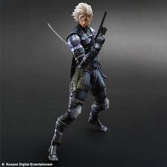 Metal Gear Solid 2 SONS OF LIBERTY Play Arts Kai Raiden