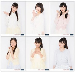 [Hello! Project New Fes! 2015] Tsubaki Factory L-sized Photo Set (6 pieces)
