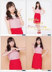 [Hello! Project New Fes! 2015] Solo 2L-sized Photo Set (4 pieces) [Yamaki Risa]