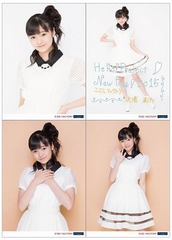 [Hello! Project New Fes! 2015] Solo 2L-sized Photo Set (4 pieces) [Hamaura Ayano]