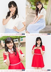 "Manaka Inaba Photo Set: 4 Photos (A / Size: 2L) [Country Girls ""Wakatteirunoni Gomenne / Tamerai Summer Time"" Release Event]"
