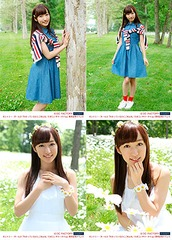 "Risa Yamaki Photo Set: 4 Photos (B / Size: 2L) [Country Girls ""Wakatteirunoni Gomenne / Tamerai Summer Time"" Release Event]"