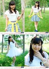 "Manaka Inaba Photo Set: 4 Photos (B / Size: 2L) [Country Girls ""Wakatteirunoni Gomenne / Tamerai Summer Time"" Release Event]"
