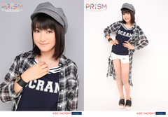 Akane Haga Solo 2L-sized Photo Set (2 Pieces) (A) [Morning Musume. '15 Concert Tour Aki - PRISM -]