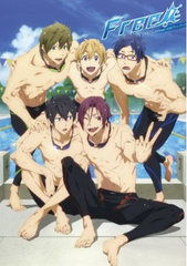 """Anime """"Free!"""" official Guide Book"""