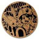 Digimon Adventure - Cork Coaster [Takeru & Patamon] / Goods