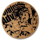 Digimon Adventure - Cork Coaster [Taichi & Agumon] / Goods
