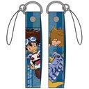 Digimon Adventure Taichi & Koromon / Yamato & Gabumon Cell Phone Strap / Character Goods