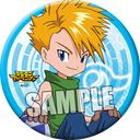 Digimon Adventure Can Badge "Yamato (Matt Ishida)" /