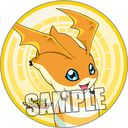 "Digimon Adventure Magnet Sticker ""Patamon "" /"